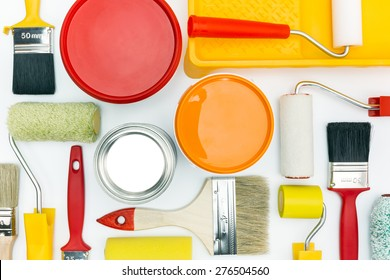 House Painting Supplies Images, Stock Photos & Vectors