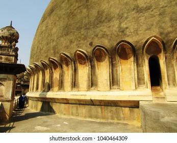 Various parts of the main building of Gol Gumbaz at Vijayapura (formarly Bijapur), Karnataka, India.