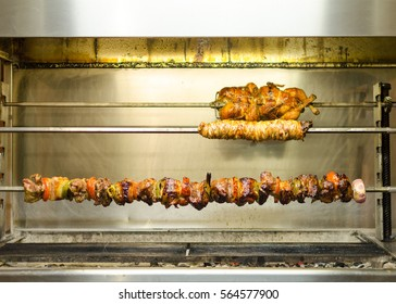 Various roasted delicacies