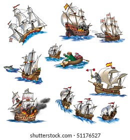 Various ships, boat and more_5