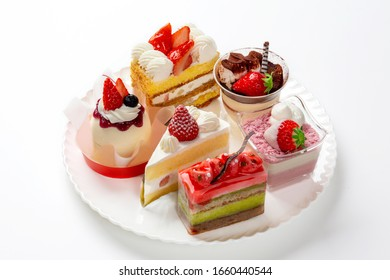 Various shortcakes made during the strawberry season