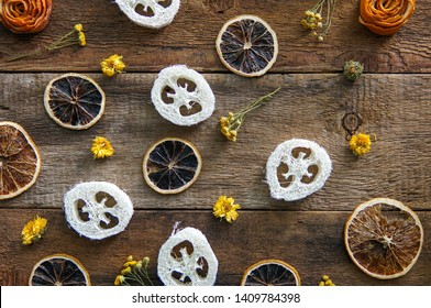 Various spa and beauty threatment eco products on wooden background