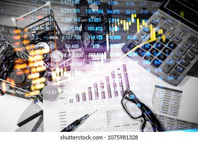Various type of financial and investment products in Bond market. i.e. REITs, ETFs, bonds, stocks. Sustainable portfolio management, long term wealth management with risk diversification concept.