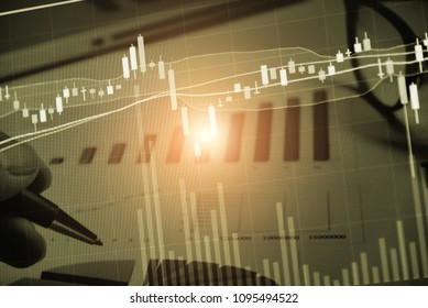 Various type of financial and investment products in Bond market. i.e. REITs, ETFs, bonds, stocks. Sustainable portfolio management, long term wealth management with risk in business as concept.