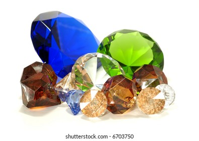 Various Type Gems and Stones