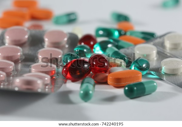 Various types of pills