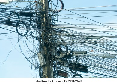 Messy Wiring Images, Stock Photos & Vectors | Shutterstock