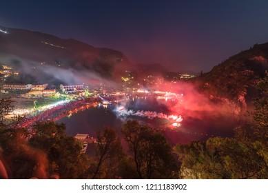 Varkarola festival odyssey in Palaiokastritsa, Corfu island, Greece