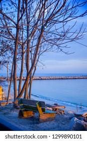 Varna bay, Bulgaria