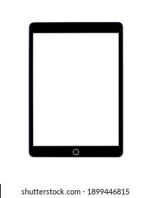 Varna, Bulgaria - Dec  5, 2020: Apple keynote 2019. Screen appeared on the website of Apple after the keynote. Apple iPad (8th Generation)