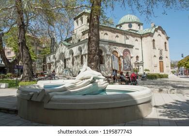 VARNA, BULGARIA - MAY 02, 2017: St. Nicolas orthodox church