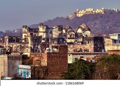 Varsana – holy place in India. Barsana, Mathura, Uttar Pradesh.This is where Srimati Radharani lived and had many pastimes with Krishna.