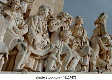 Vasco da Gama statue in Lisbon, Portugal