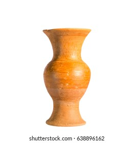 Vase isolated on white background