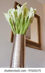 Vase - in modern living room