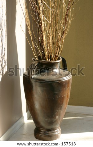 Vase Twigs Branches Stock Photo Edit Now 157513 Shutterstock