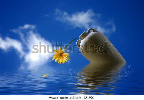 Vase-Ocean