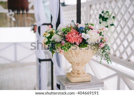Vases artificial flowers flower Vase ornament & Vases Artificial Flowers Flower Vase Ornament Stock Photo (Edit Now ...