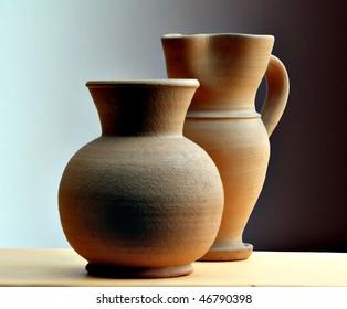 vases of terracotta