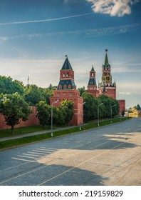 Vasilevsky descent area - area located on Red Square to Kremlin embankment along Kremlin wall. On square are often held celebrations, holidays and sporting events.