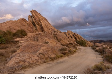 Vasquez Rocks Natural Area Park. Located in the Sierra Pelona Mountains in Southern California, United States. This  park has been used in many movies and commercials.