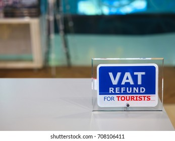 VAT Refund for Tourists.