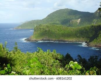 Vatia Bay at the National Park of American Samoa
