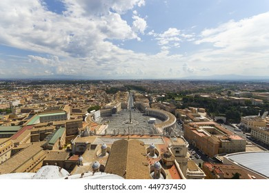 Vatican City from the Cupola