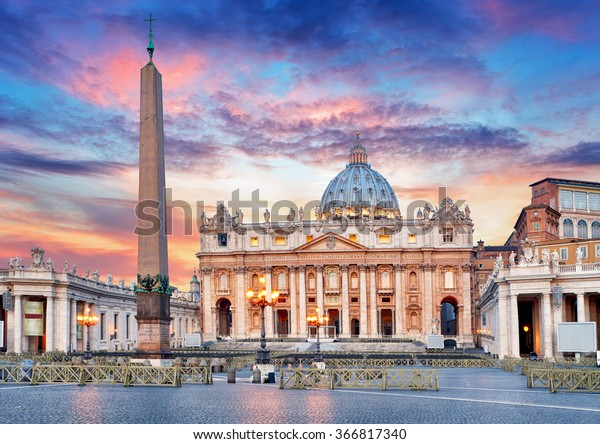Vatican, Rome, St. Peter's Basilica
