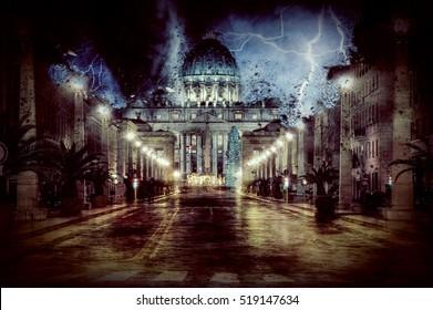 Vaticano Destroyed