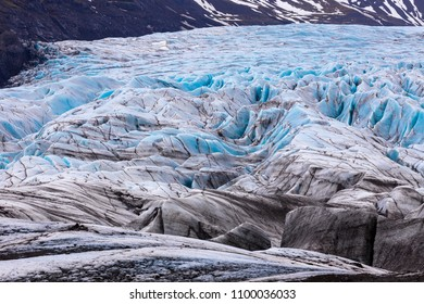 Vatnajokull Glacier national park in iceland