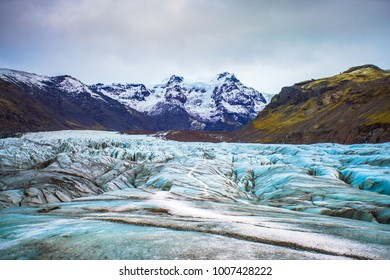 Vatnajokull National Park, one of three national parks in Iceland, the area include Vatnajokull glacier, Skaftafell and Jokulsargljufur