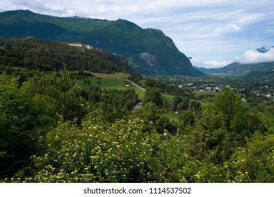 Vauban fortress of Mont Dauphin in the french alps