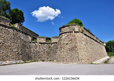 the vauban fortress from mont louis ,france