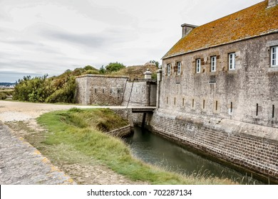 Vauban fortress on Tatihou island. Lower Normandy, France.