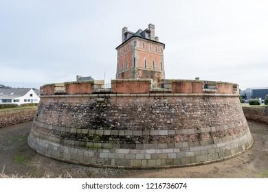 vauban tower in camaret in brittany