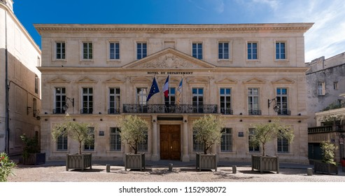 Vaucluse County Council in Avignon. Vaucluse, Provence, France, Europe.