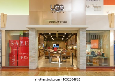 Vaughan, Ontario, Canada - March 24, 2018: UGG store front at Vaughan