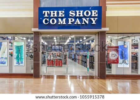 2062f46d1 Vaughan, Ontario, Canada - March 24, 2018: Shoe Company storefront at  Vaughan
