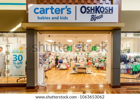 68950344 Vaughan, Ontario, Canada - March 24, 2018: Carter's store front at Vaughan