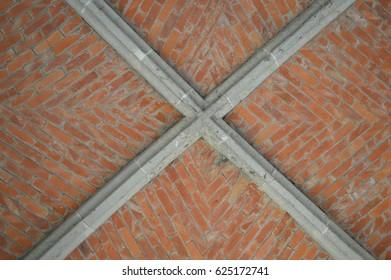 vaulted brick ceiling
