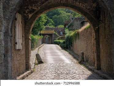 Vaux de Cernay Abbey, in ile de France country