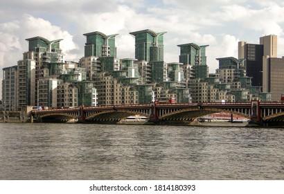 Vauxhall Bridge and the London skyline