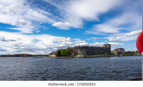 Vaxholm Fortress is a historic fortification on the island of Vaxholm in the Stockholm archipelago. The fortress was originally constructed by Gustav Vasa in 1548 to defend Stockholm from enemies.