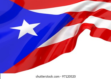 Vector Flags of Puerto Rico