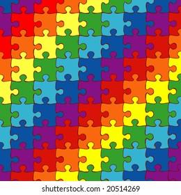 "vector illustration ""puzzle"""