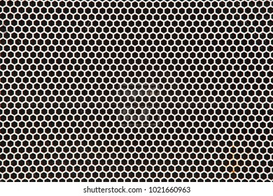 vector metal grid background