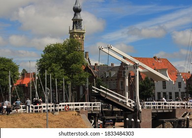 Veere, Netherlands July 6, 2019: Veere is a municipality with a population of 22,000 and a town with a population of 1,500 in the southwestern Netherlands, in the region of Walcheren