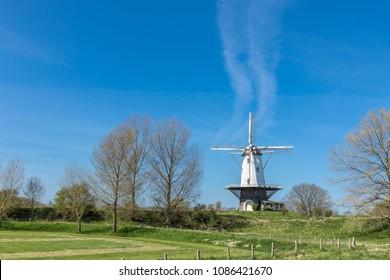 Veere - Windmill  Of Veere -  Zeeland, Netherlands, 18.04.2018