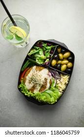 Vegan box diet